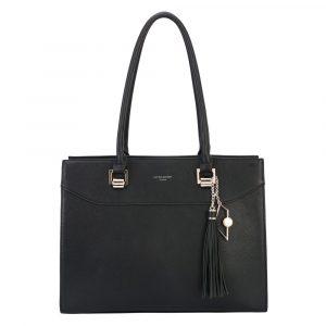 David Jones Paris Dámská kabelka přes rameno CM5705 – černá
