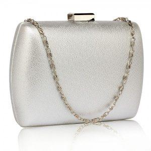Dámské psaníčko LS Fashion Jodie – stříbrná