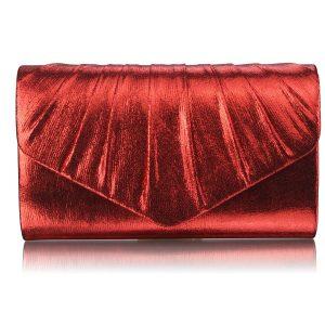 Dámské psaníčko LS Fashion Lucy – červená