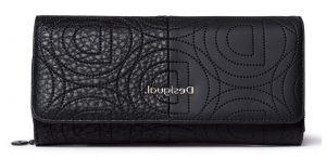 Desigual černá peněženka Mone Minuet Maria