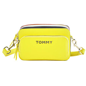 Tommy Hilfiger Dámská crossbody kabelka Th Corporate Camera Bag Hyper Yellow