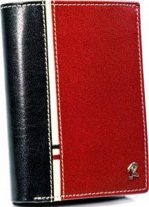 PÁNSKÁ ČERVENO-ČERNÁ PENĚŽENKA ROVICKY 331-RBA-D BLACK-RED Velikost: univerzální