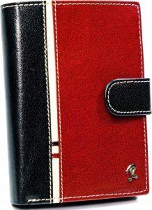 ROVICKY PÁNSKÁ ČERNO-ČERVENÁ PENĚŽENKA 331L-RBA-D BLACK-RED Velikost: univerzální