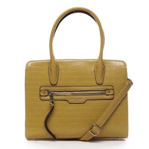 Dámská kabelka žlutá – David Jones Camille žlutá