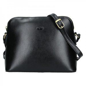 Kožená dámská crosbody kabelka Katana Nicolet – černá