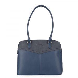 David Jones Paris Dámská kabelka přes rameno 6234-1 – tmavě modrá