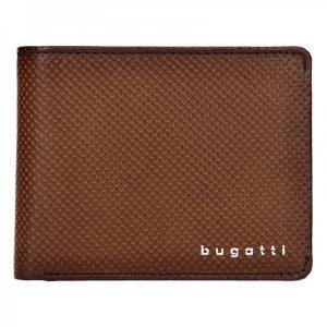 Pánská kožená peněženka Bugatti Filipo – hnědá