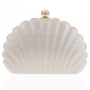 Dámské psaníčko zlaté – Michelle Moon Seashell zlatá