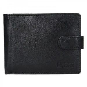Pánská kožená peněženka Lagen Zdeno – černá