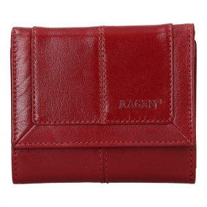 Dámská kožená peněženka Lagen Neami – červená