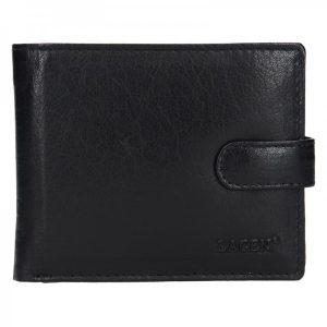 Pánská kožená peněženka Lagen Ivan – černá