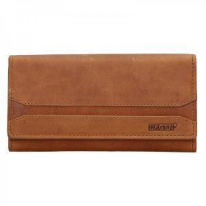 Dámská peněženka Lagen Marion – hnědá