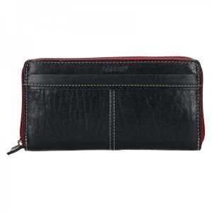 Dámská kožená peněženka Lagen Philia – černá