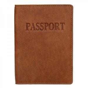 Pánský obal na cestovní pas Lagen Petrov – hnědá