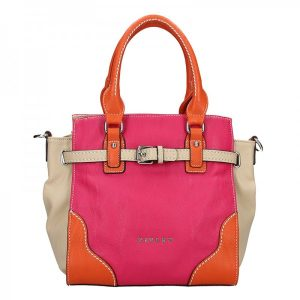 Dámská kabelka Sisley Cristina – růžová