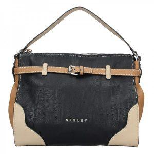 Dámská kabelka Sisley Camilla – černá