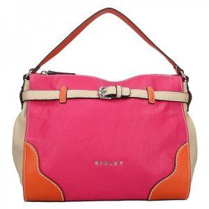 Dámská kabelka Sisley Camilla – růžová