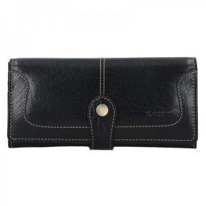 Dámská kožená peněženka Lagen Berta – černá