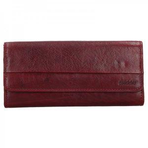 Dámská kožená peněženka Lagen Bella – tmavě červená