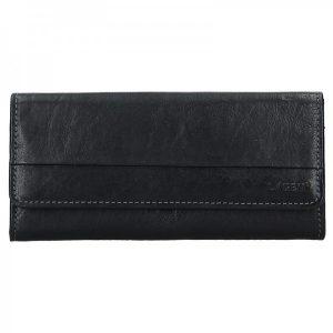 Dámská kožená peněženka Lagen Bella – černá