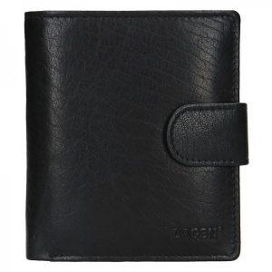 Pánská kožená peněženka Lagen Katini – černá