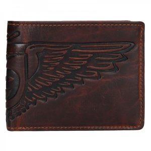 Pánská kožená peněženka Lagen Eagle – hnědá