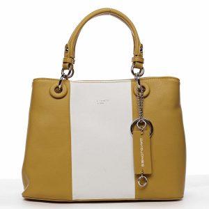 Dámská kabelka do ruky žlutá – David Jones Valentina žlutá