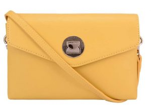 David Jones Dámská crossbody kabelka Yellow CM5651