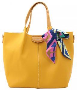 David Jones Dámská kabelka Yellow CM5623