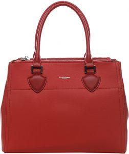 David Jones Dámská kabelka Red CM5606