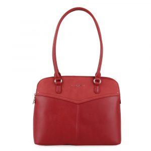 David Jones Paris Dámská kabelka přes rameno 6234-1 – červená