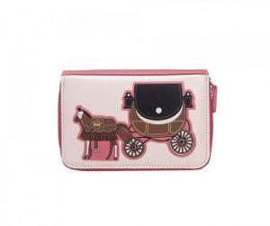 Peněženka Horse Carriage – růžová