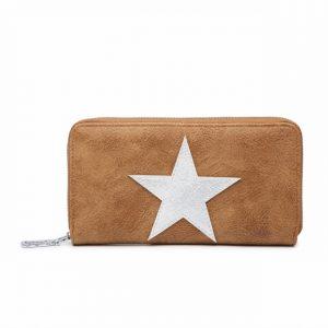 Peněženka Stars n.1 – hnědá