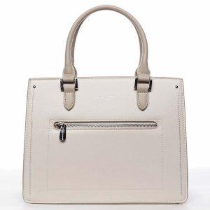 Dámská kabelka do ruky krémově bílá – David Jones Samentha krémová
