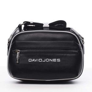 Dámská crossbody kabelka černá – David Jones Jolanis černá