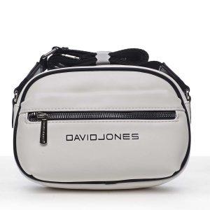 Dámská crossbody kabelka bílá – David Jones Jolanis bílá