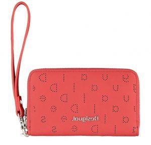 Desigual Dámská peněženka Mone Nurs Mini Zip Rojo Tierra 20SAYP26 3030