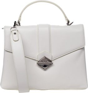 David Jones Dámská kabelka White CM5617