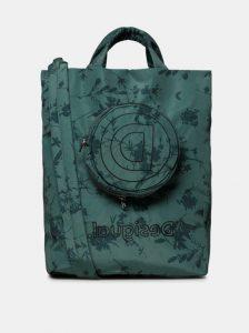 Zelená květovaná taška s odnímatelným pouzdrem 2v1 Desigual
