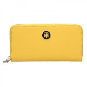 Dámská peněženka Tommy Hilfiger Ritta – žlutá