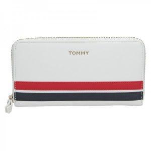 Dámská peněženka Tommy Hilfiger Apolen – bílá