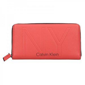 Dámská peněženka Calvin Klein Elen – červená
