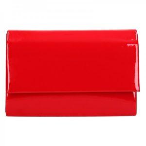 Elegantní dámské psaníčko Leona – červená