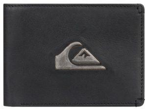 Quiksilver Pánská kožená peněženka New Miss Dollar Ii Black EQYAA03895-KVJ0