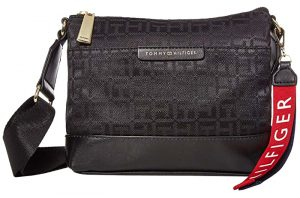 Tommy Hilfiger Dámská crossbody kabelka TH Lottie Crossbody Black