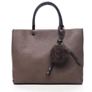 Dámská kabelka do ruky hnědá – Pierre Cardin Krimea hnědá