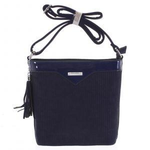 Dámská crossbody kabelka tmavě modrá – Silvia Rosa Shatter tmavě modrá