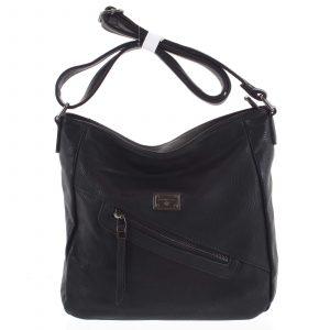Dámská crossbody kabelka černá – Romina Comprit černá
