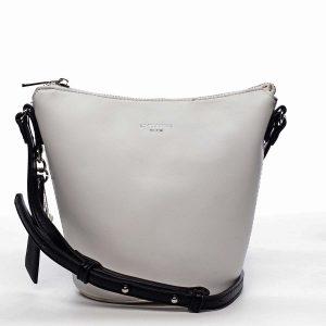 Dámská crossbody kabelka bílá – David Jones Misahy bílá