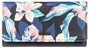Roxy Dámská peněženka Hazy Daze Anthracite Tropicoco S ERJAA03712-KVJ6